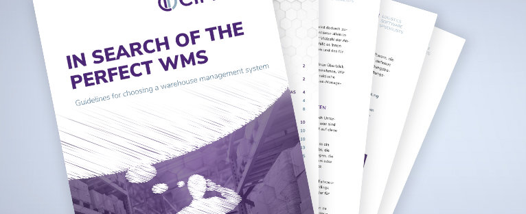 "Download whitepaper ""In search of the perfect wms"""